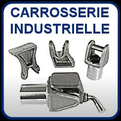 Carrosserie industrielle, crochet, articulation benne