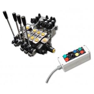 Commande électrique d'équipements